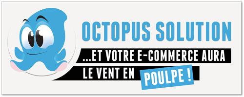 Octopus-solution: Créez votre site e-commerce en quelque clics